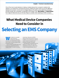 Selecting an EMS Company